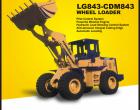 Xe xúc lật Lonking 2.3m3 LG843