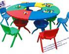 Bộ bàn ghế hình tròn