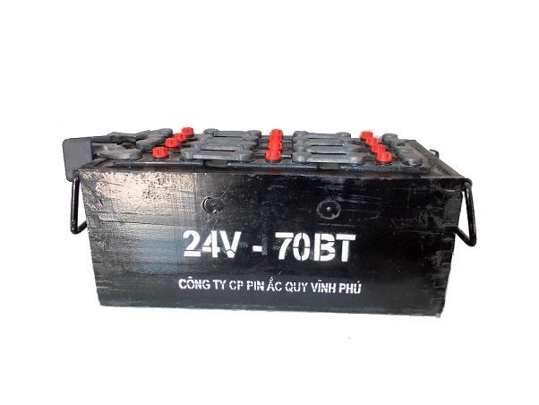 Ắc quy quốc phòng đặc chủng 24V-70BT