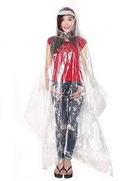 Áo mưa nhựa trong