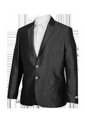 Áo vest đen trơn