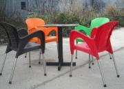 Bàn ghế nhựa đúc