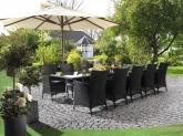 Bàn ghế nhựa giả mây (Garden furniture)