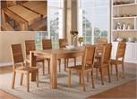 Bàn ghế phòng ăn gỗ