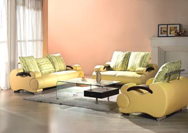 Bàn ghế sofa da cao cấp