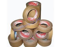 Băng keo giấy nâu da bò
