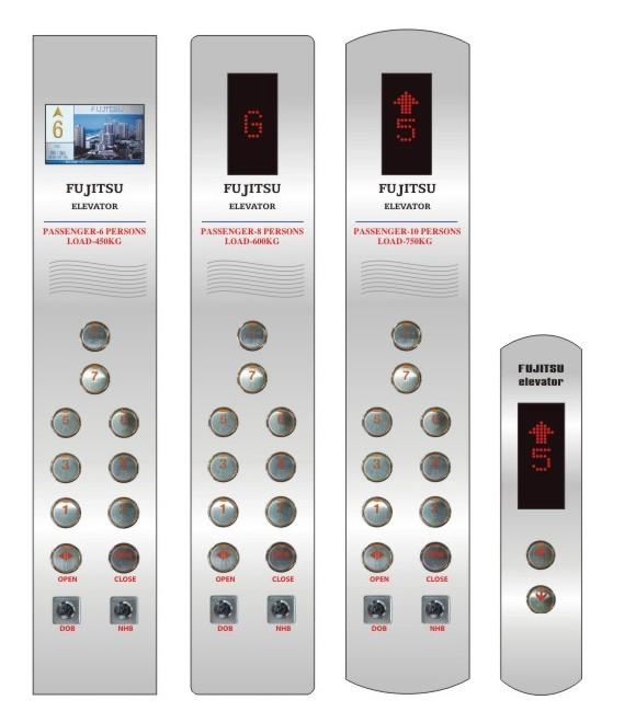 Bảng nút gọi thang máy