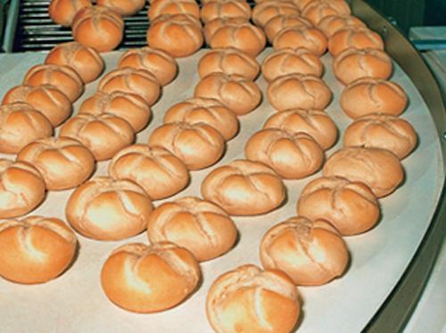 Băng tải bánh dùng trong ngành thực phẩm
