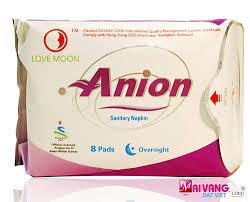 Băng vệ sinh Anion