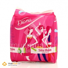 Băng vệ sinh Diana có cánh siêu thấm