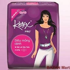 Băng vệ sinh KOTEX có cánh siêu thấm
