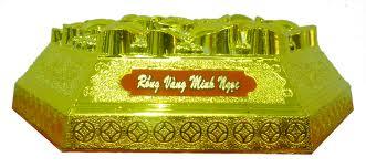 Bánh đậu xanh Rồng Vàng Minh Ngọc lục giác