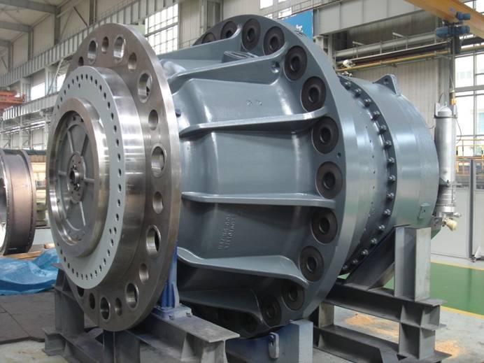 Bảo trì gearbox tubin