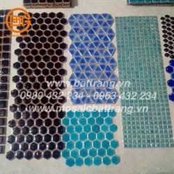 Gạch mosaic gốm thủ công Bát Tràng