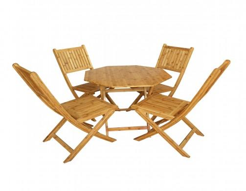 Bộ bàn ghế tre