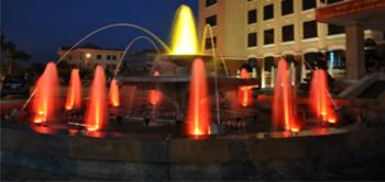 Bộ đài phun nước kiến trúc
