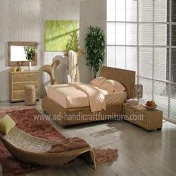 Bộ giường ngủ lục bình WABD-003