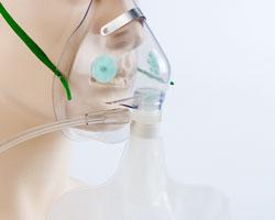 Bộ mask thở+bóng thở oxy, sơ sinh