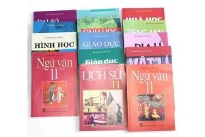 Bộ sách giáo khoa các lớp