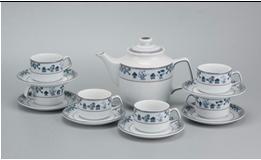 Bộ trà bằng sứ