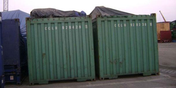 Bốc Xếp Hàng Lên Container