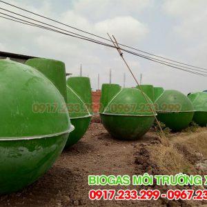 Hầm bể biogas đường kính 2,25m