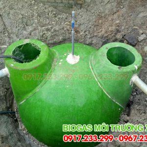 Hầm bể biogas đường kính 2,4m
