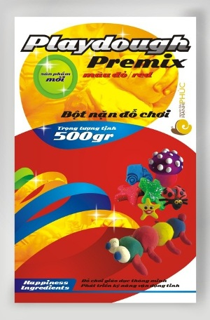 Bột nặn đồ chơi Playdough Premix