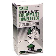 Box of 100 individually wrapped towelettes