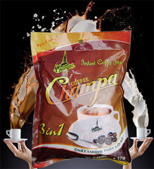 Cà phê Champa 3In1