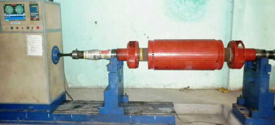 Cân bằng động Rotor