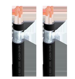 Cáp ngầm 4 ruột DSTA 3X+1 Cadisun
