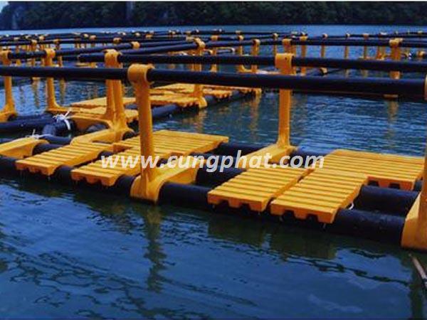 Cầu Phao HDPE & Cầu Phao Composite FRP