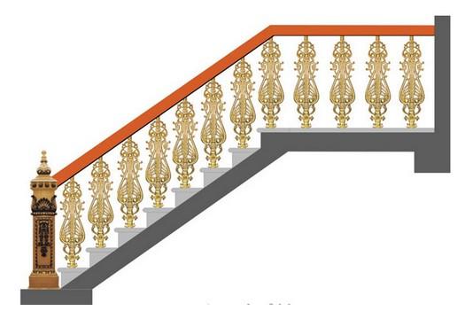 Cầu thang mỹ nghệ