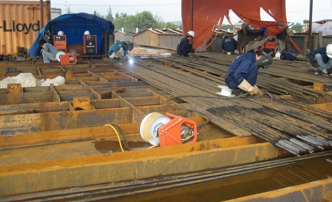 Chế tạo kết cấu thép nhà xưởng