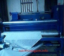 Chế tạo thiết bị cơ khí ngành may mặc