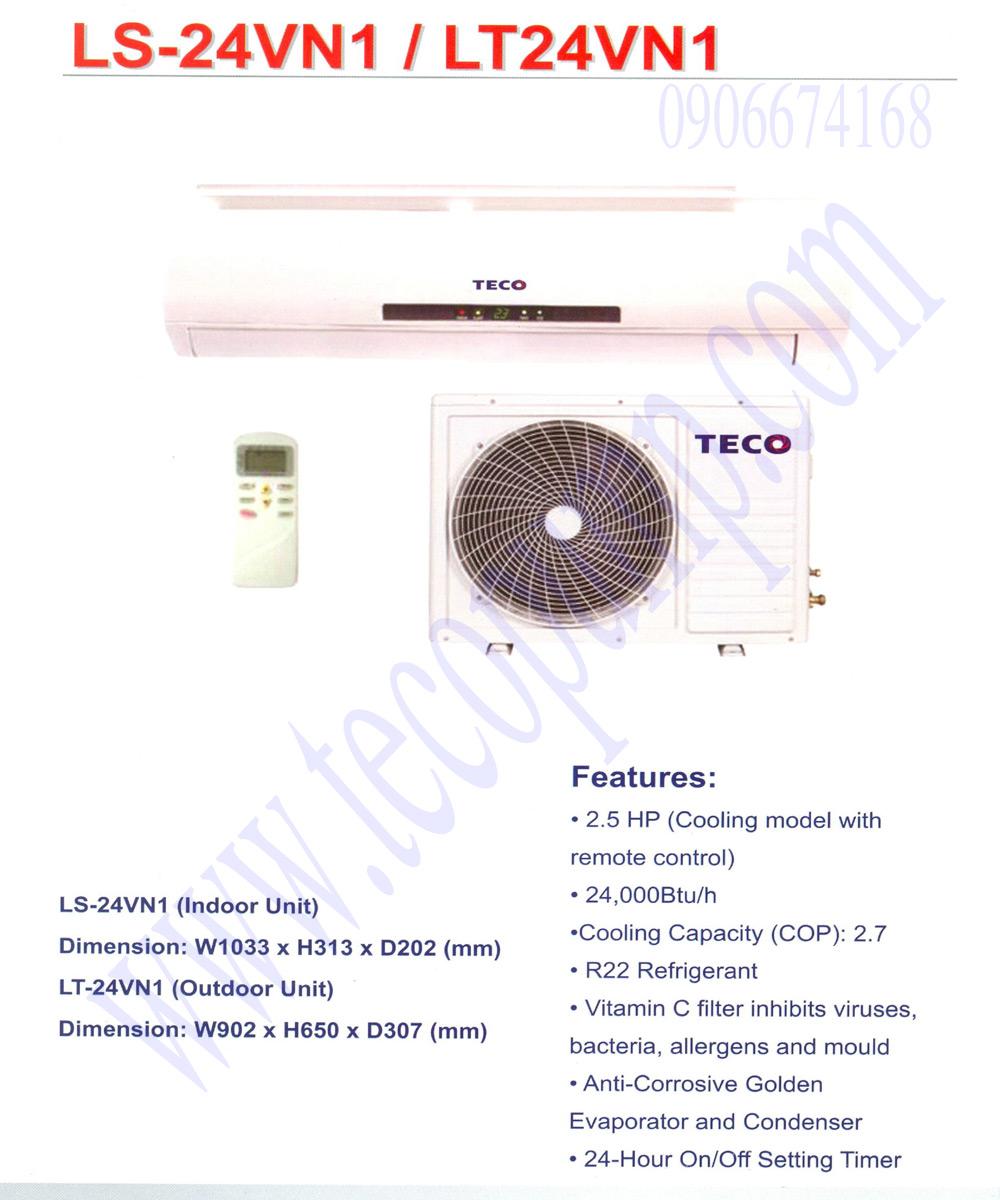 Máy lạnh TECO 2.5HP