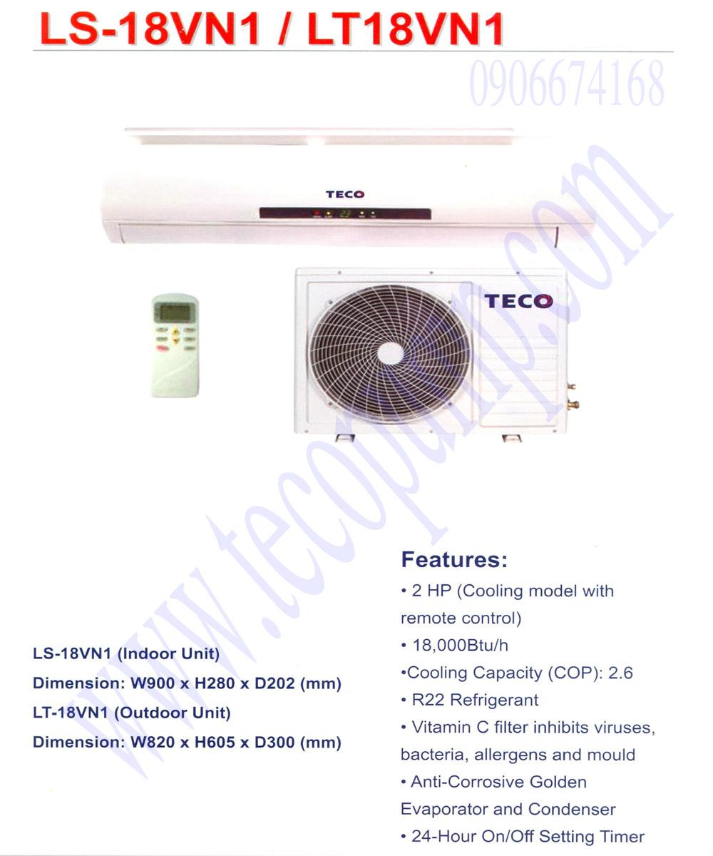 Máy lạnh TECO 2HP