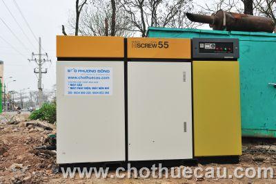 Cho thuê máy nén khí Hitachi 55KW