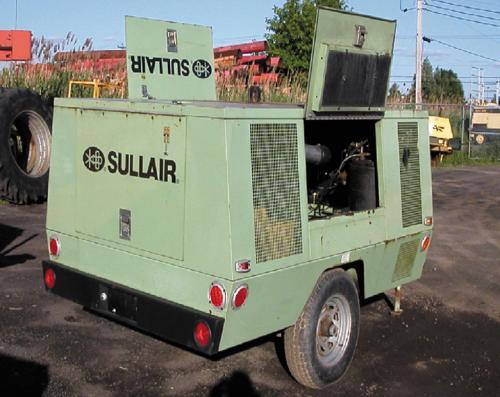 Cho thuê máy nén khí Sullair