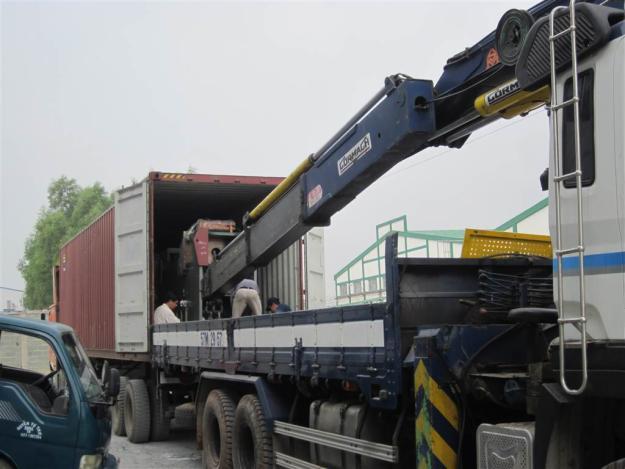 Cho thuê xe cẩu 15 tấn