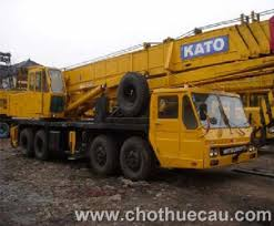 Cho thuê xe cẩu Kato 40 tấn