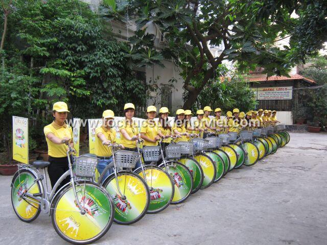 Cho thuê xe đạp đơn