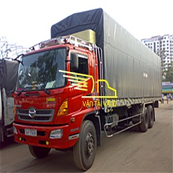 Cho thuê xe tải thùng kín