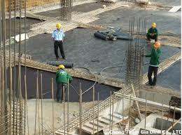 Chống thấm công trình xây dựng