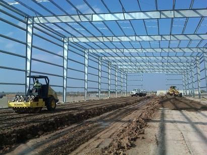 Cơ khí xây dựng - Nhà thép tiền chế