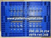 PALLET NHỰA MÀU XANH 800X1200X160MM