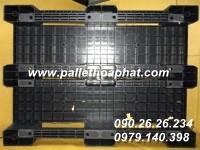 PALLET NHỰA MÀU ĐEN 950X1270X160MM