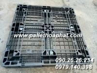 PALLET ĐEN SX NHẬT 1100X1100X120MM
