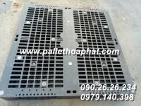 PALLET NHỰA 2 MẶT 1100X1100X150MM